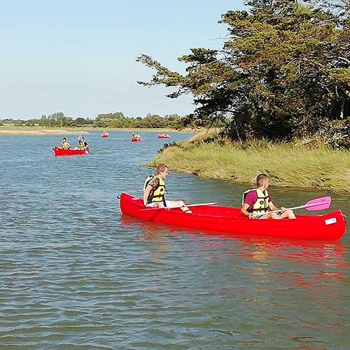 Location Canoë ou Kayak à Saint Hilaire de Riez en vendée, France