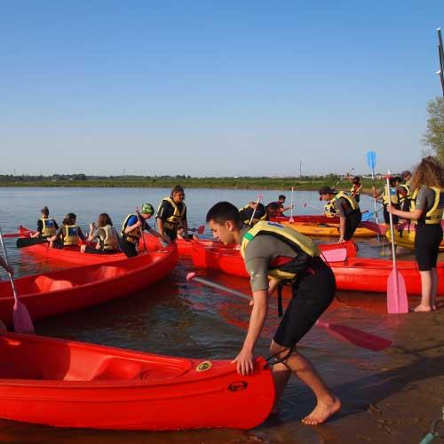 Activité Canoë ou Kayak à Saint Hilaire de Riez en vendée, France