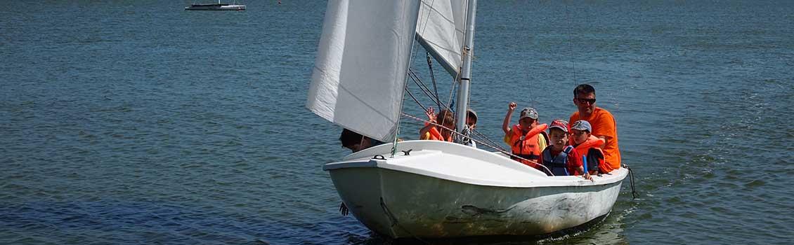 Caravelle base nautique des Vallées à Saint Hilaire de Riez en Vendée