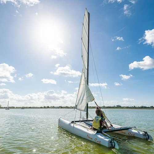 Perfectionnement catamaran à Saint Hilaire de Riez en Vendée