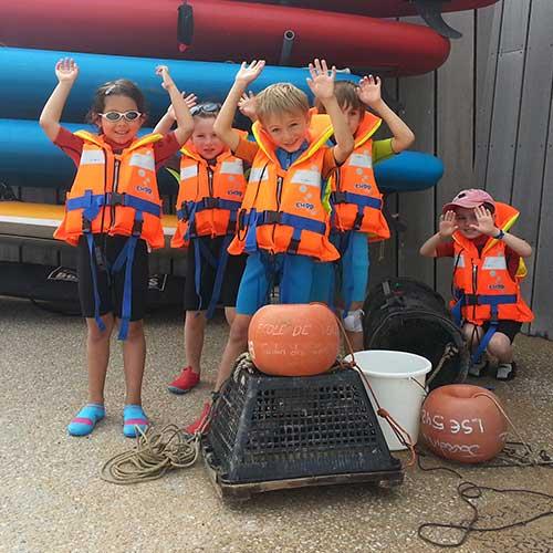 Activité jardin des mers pour les enfants à Saint Hilaire de Riez en Vendée
